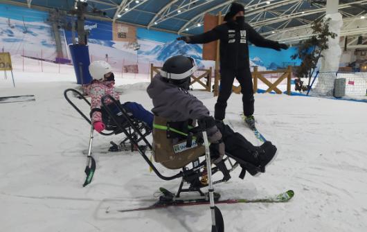 Clases adaptadas 1 hora snowboard